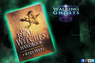 "Witch Craft Book ""The Real Witches Handbook"" Kate West's Wicca Magick"